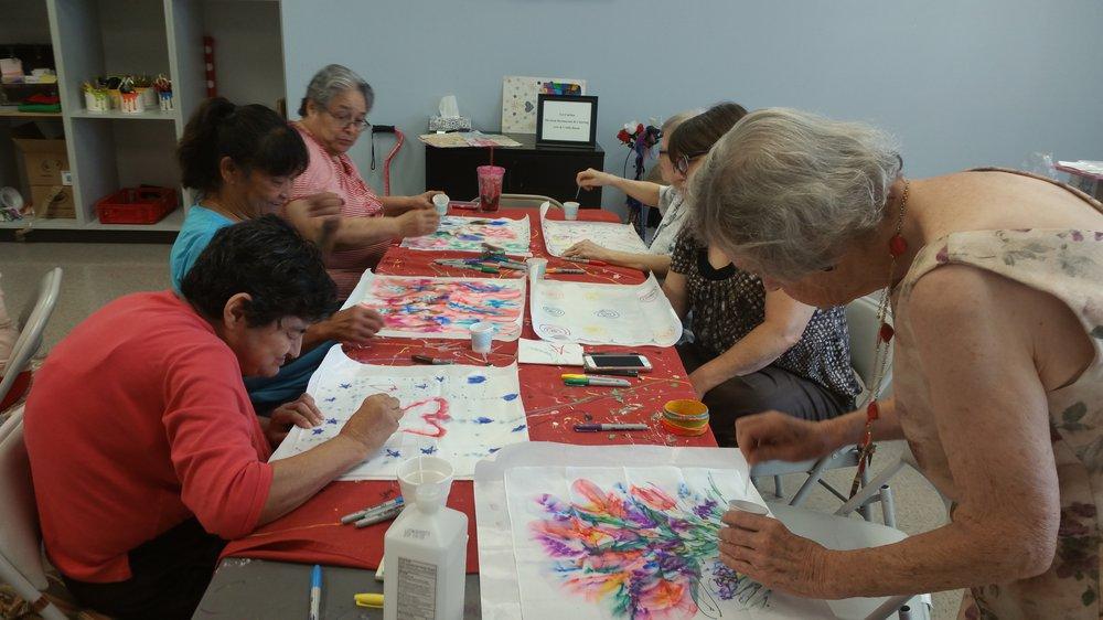 Senior citizens arts and crafts program sugar land art for Arts and crafts for seniors